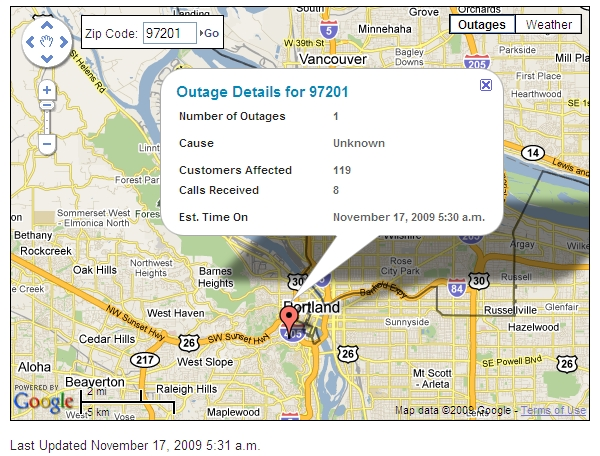 PGE-Power-Outage-Map-Portland
