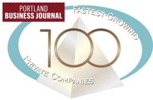 Portland Biz Journal 100 Fastest Co