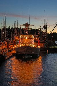 See the Christmas Ships near Portland homes.